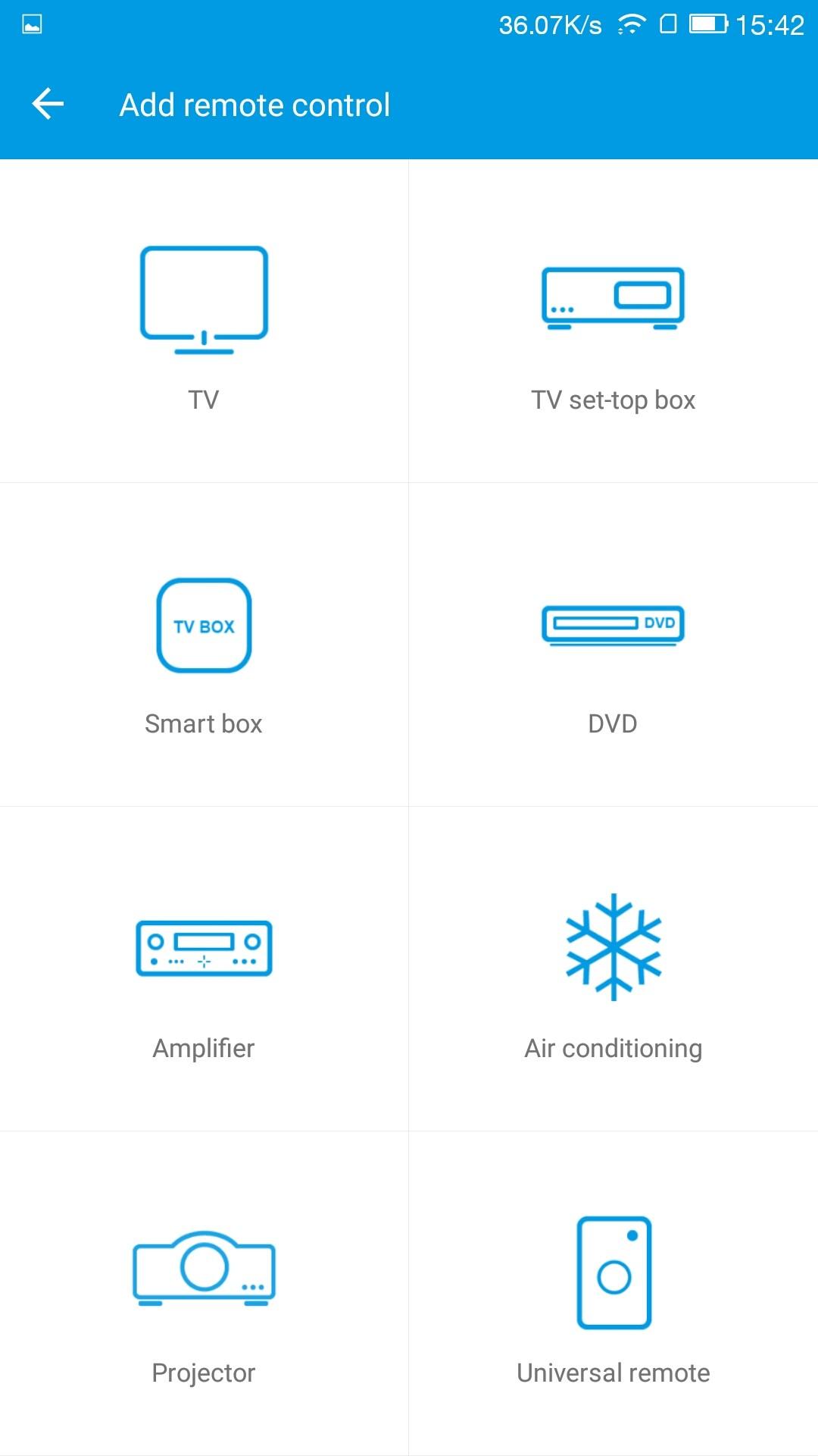 ウチには赤外線リモコンがあるのはエアコンだけ(汗)Air conditioningを選ぶ
