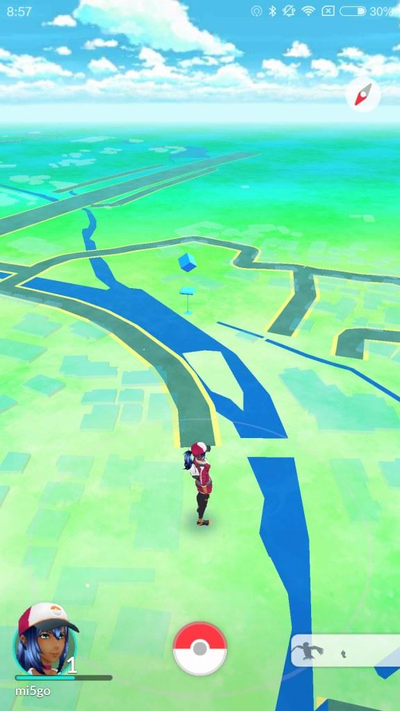 GPSつかんだ