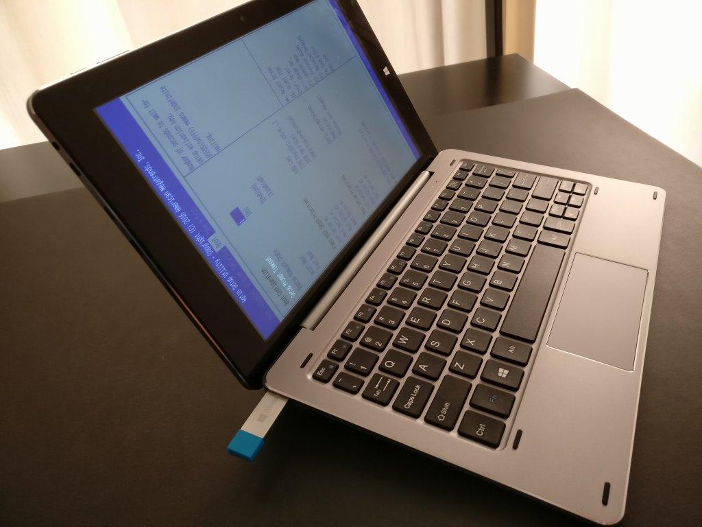 【中華タブレットWindows10初期化トラブル】復旧方法 Chuwi Hibookで検証