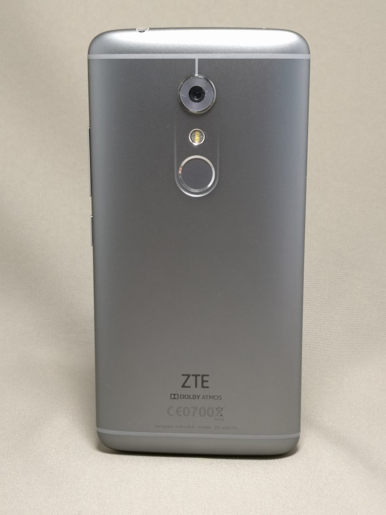 ZTE AXON 7 レビュー 中華スマホ ドルビー・技適シールあり