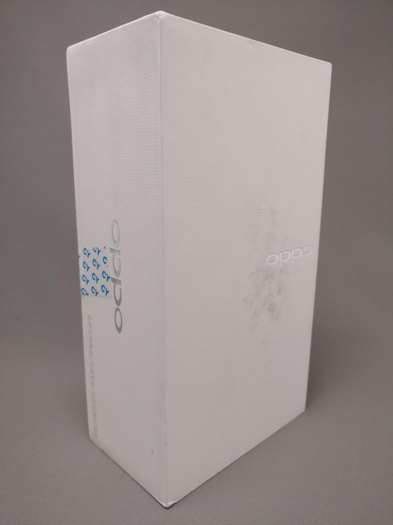 OPPO R9 化粧箱 表面 斜め