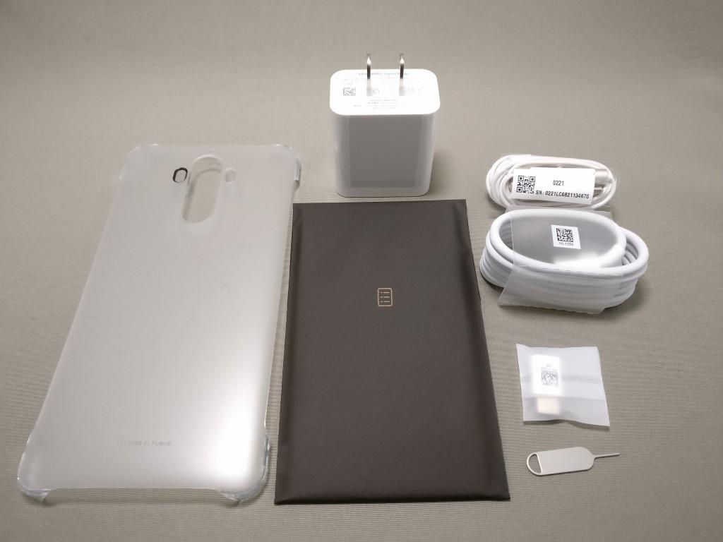 Huawei mate 9 付属品 全部