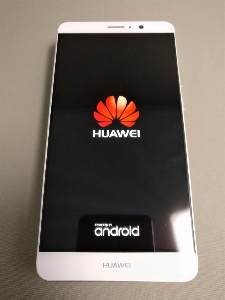 Huawei mate 9 起動 Huaweiアイコン