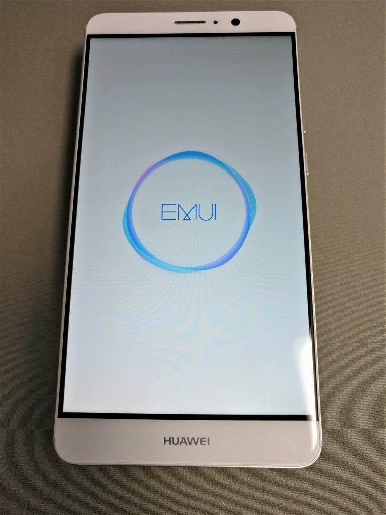 Huawei mate 9 起動 EMUIアイコン