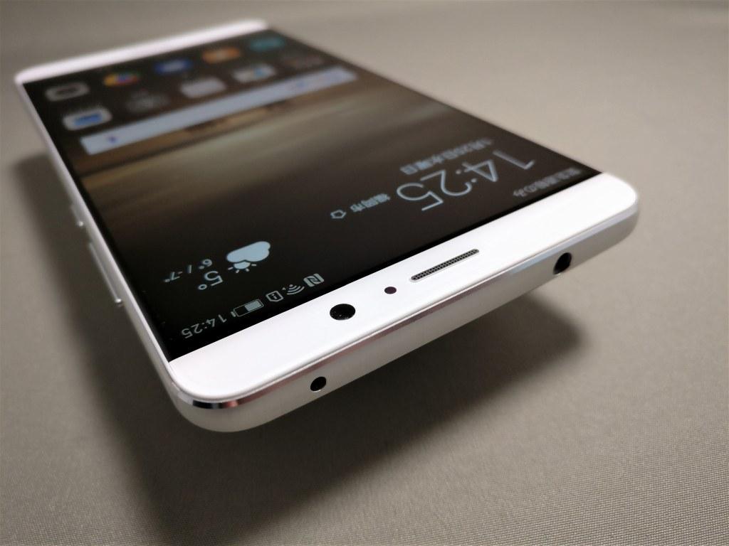 Huawei mate 9 表面 上から