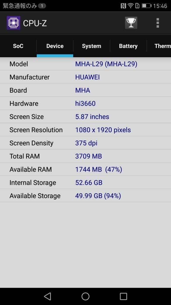 CPU-Z Device