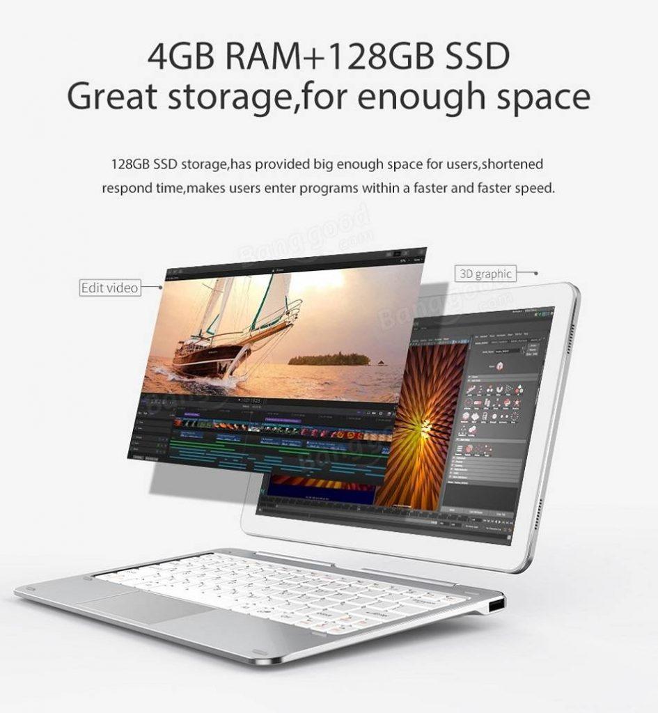CUBE Mix Plus  4GB RAM + 128GB SSD