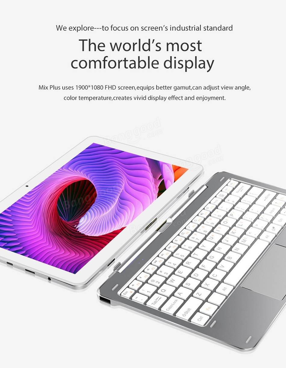 CUBE Mix Plus The world's most comfortable display