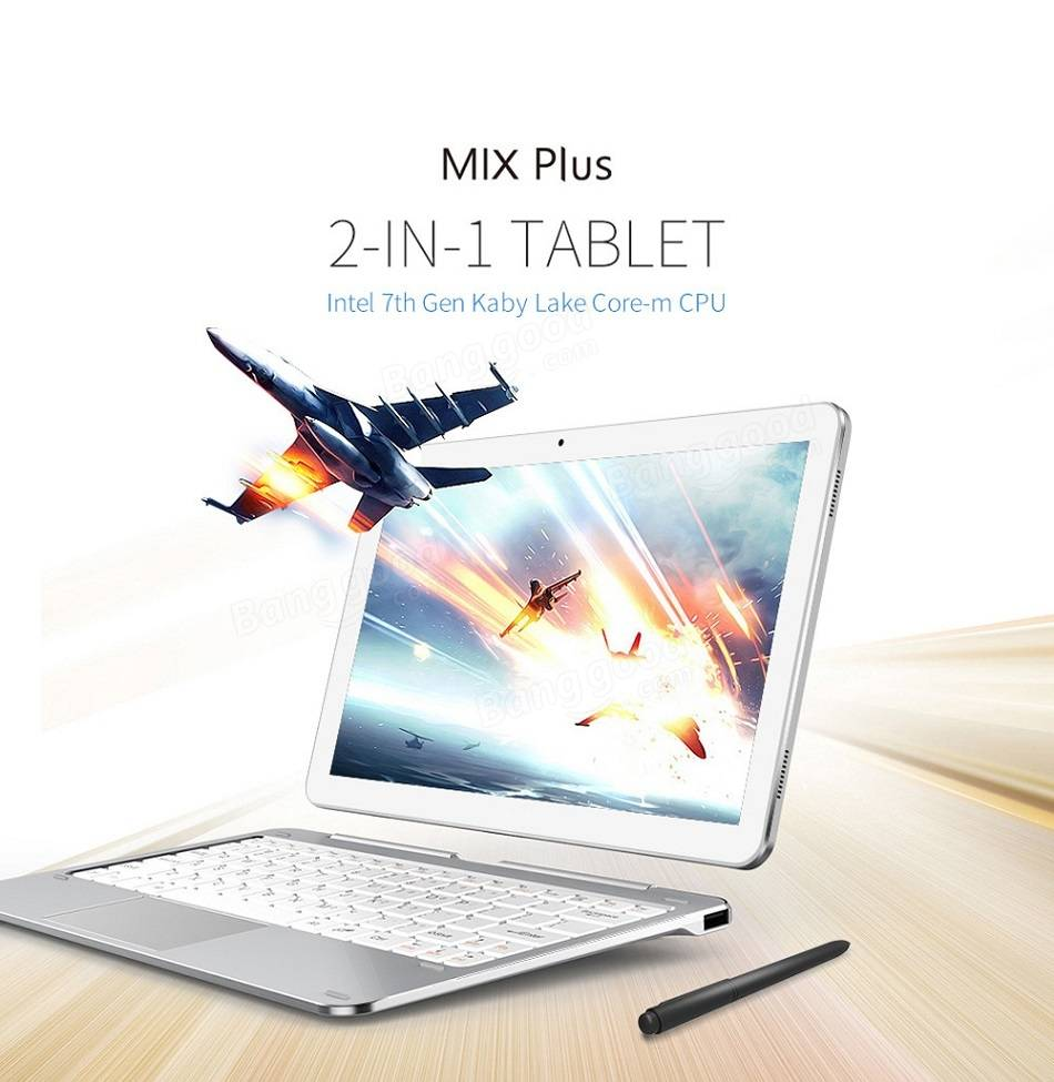 CUBE Mix Plus 2-IN-1 Tablet