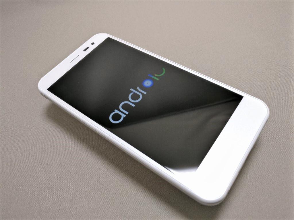 Sharp 507SH 起動 Androidのアイコン表示