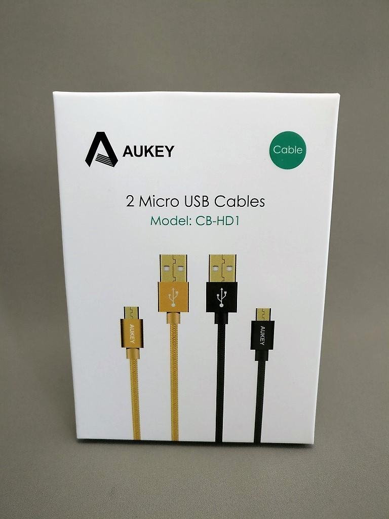 microusb ケーブル 2本セット 化粧箱