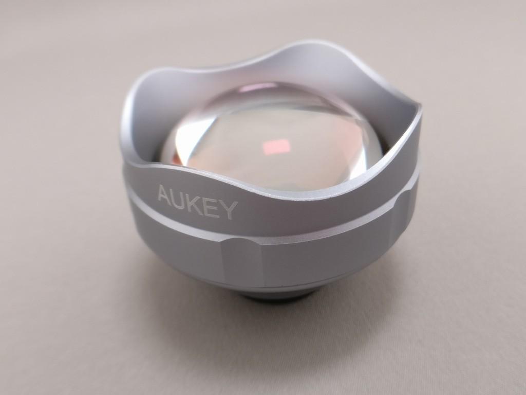 AUKEY 3in1 スマホレンズ PL-A3 15X ワイドレンズで3倍望遠レンズ撮影