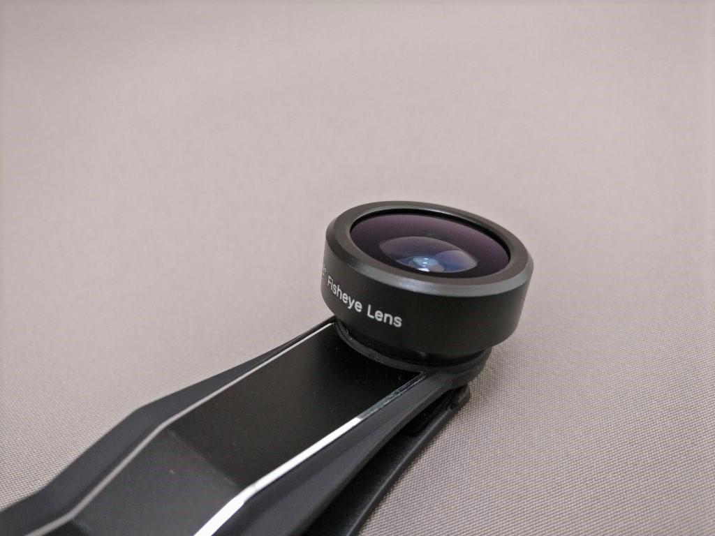 AUKEY 3in1 スマホレンズ PL-A3 15X 魚眼レンズ