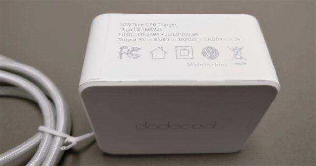 dodocool USB PDアダプタ 5V3A