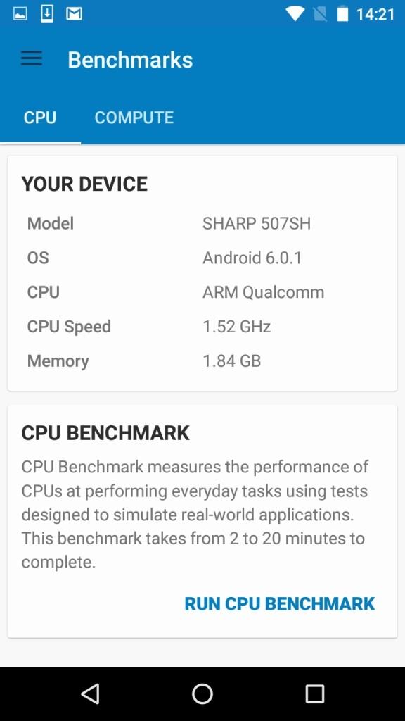 Geekbench CPU