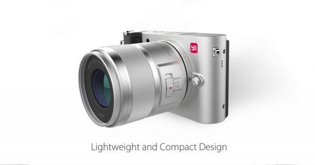 Xiaomi Yi Digital Camera M1 商品画像 斜めシルバー