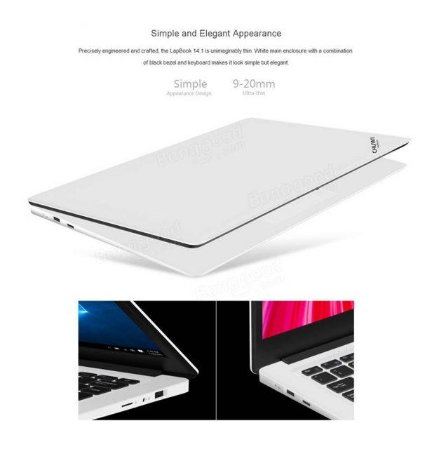 Chuwi Lapbook Notebook シンプルな側面