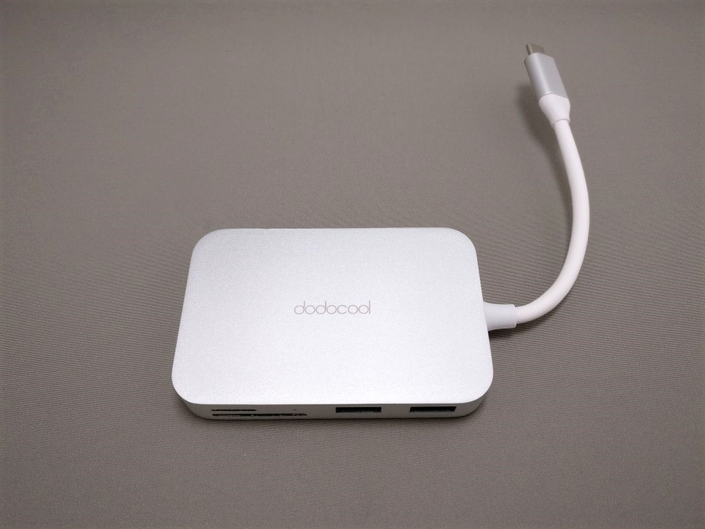 dodocool USB-C PDハブ 全体