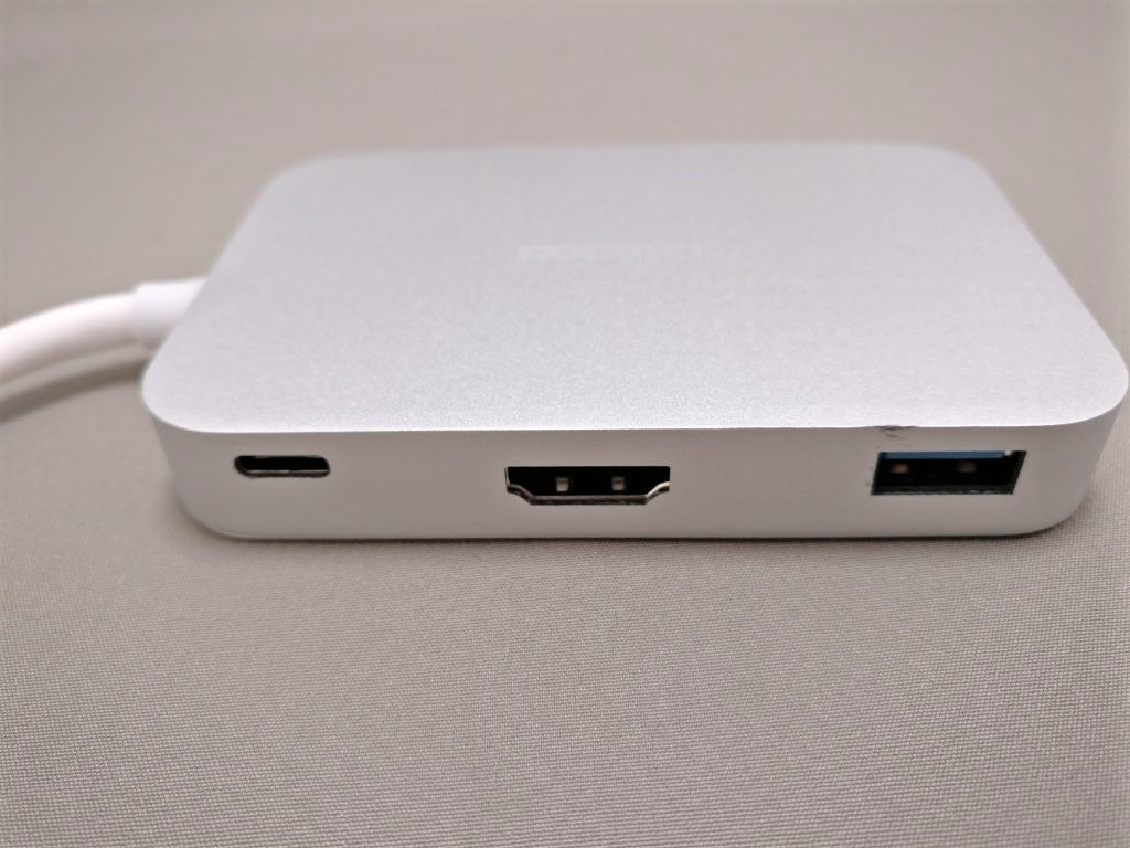 dodocool USB-C PDハブ 上側面