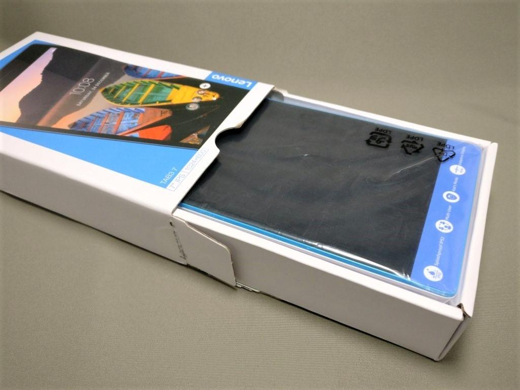 Lenovo TAB3 7 化粧箱 本体引き出す