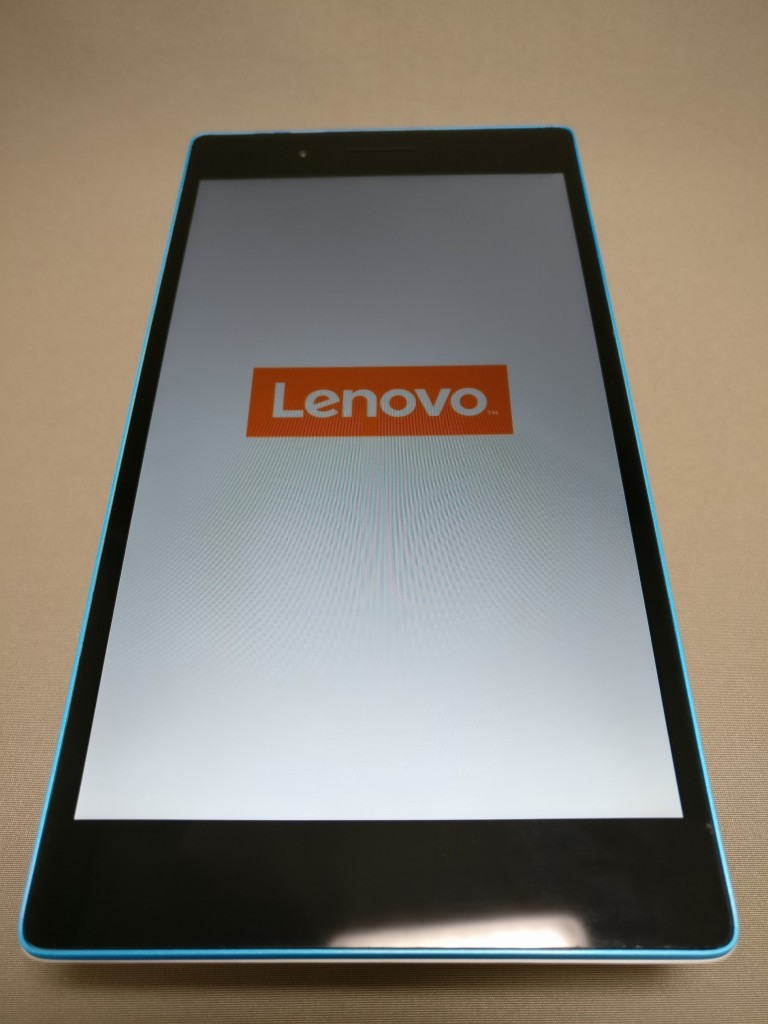 Lenovo TAB3 7(LTE) Lenovoアイコン オレンジ