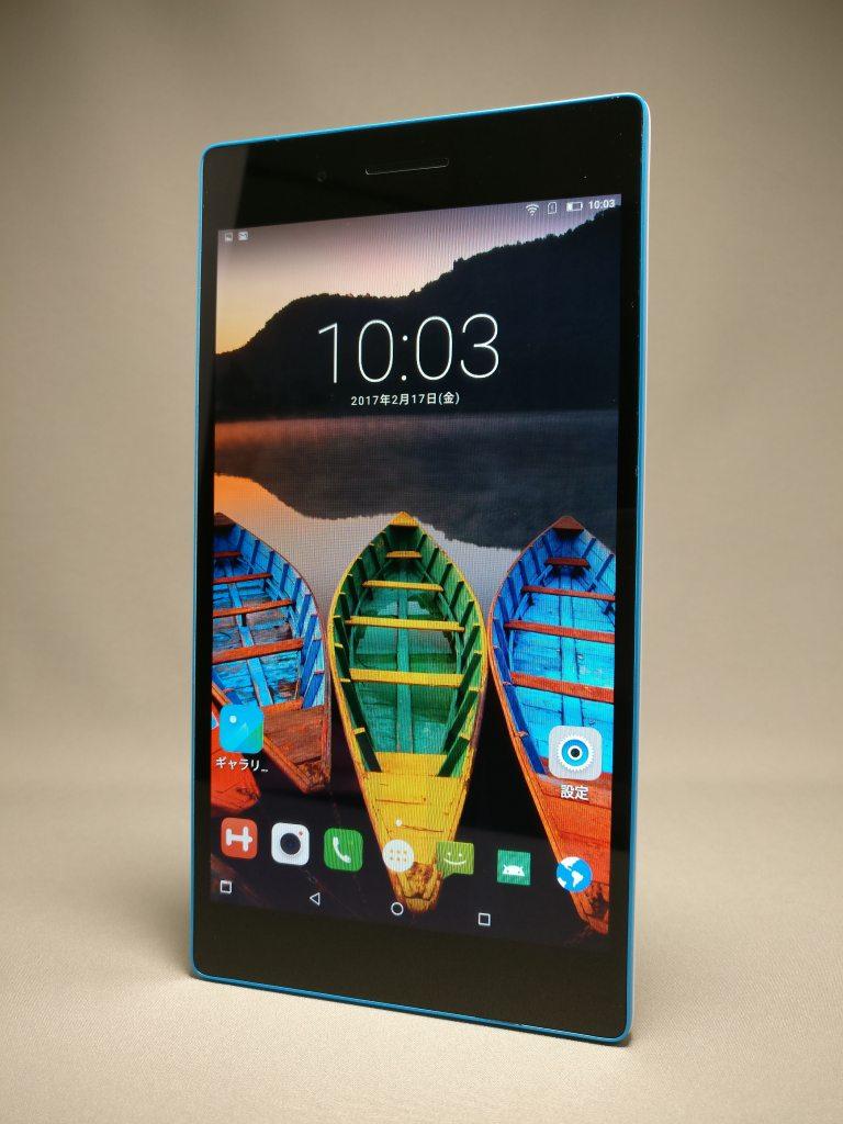 【Banggood】7インチ LTE 中華タブレット Lenovo TAB3 7 開封の儀 レビュー