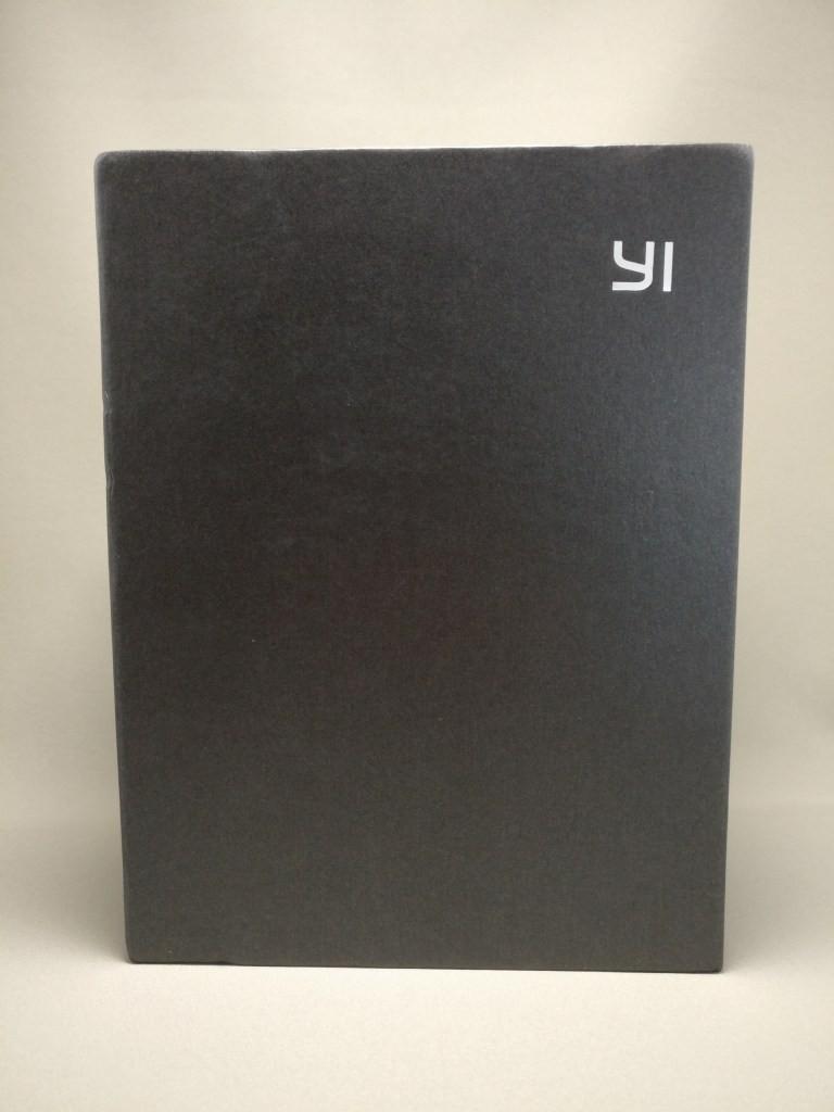 YI M1 WiFi 4K Digital Micro Single Camera - DUAL LENS 化粧箱 正面