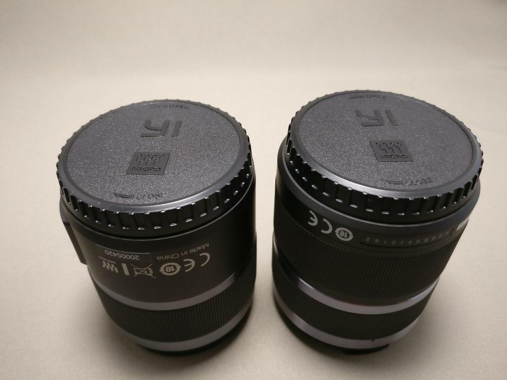 Xiaomi Yi Digital Camera M1 レンズセット 上下カバー装着状態