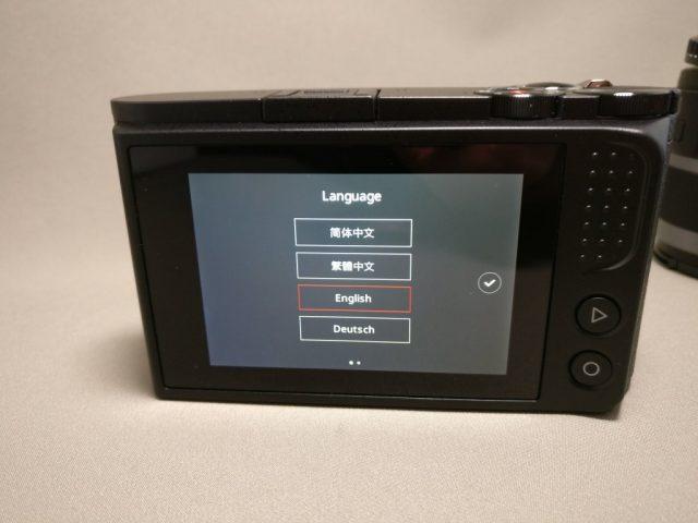 Xiaomi Yi Digital Camera M1 タッチスクリーン液晶パネル 起動