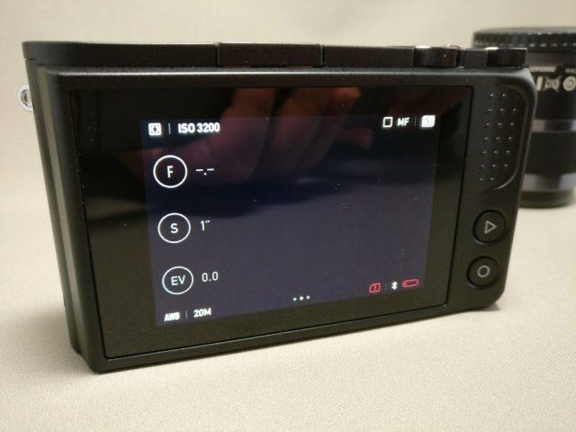 Xiaomi Yi Digital Camera M1 タッチスクリーン液晶パネル 設定完了
