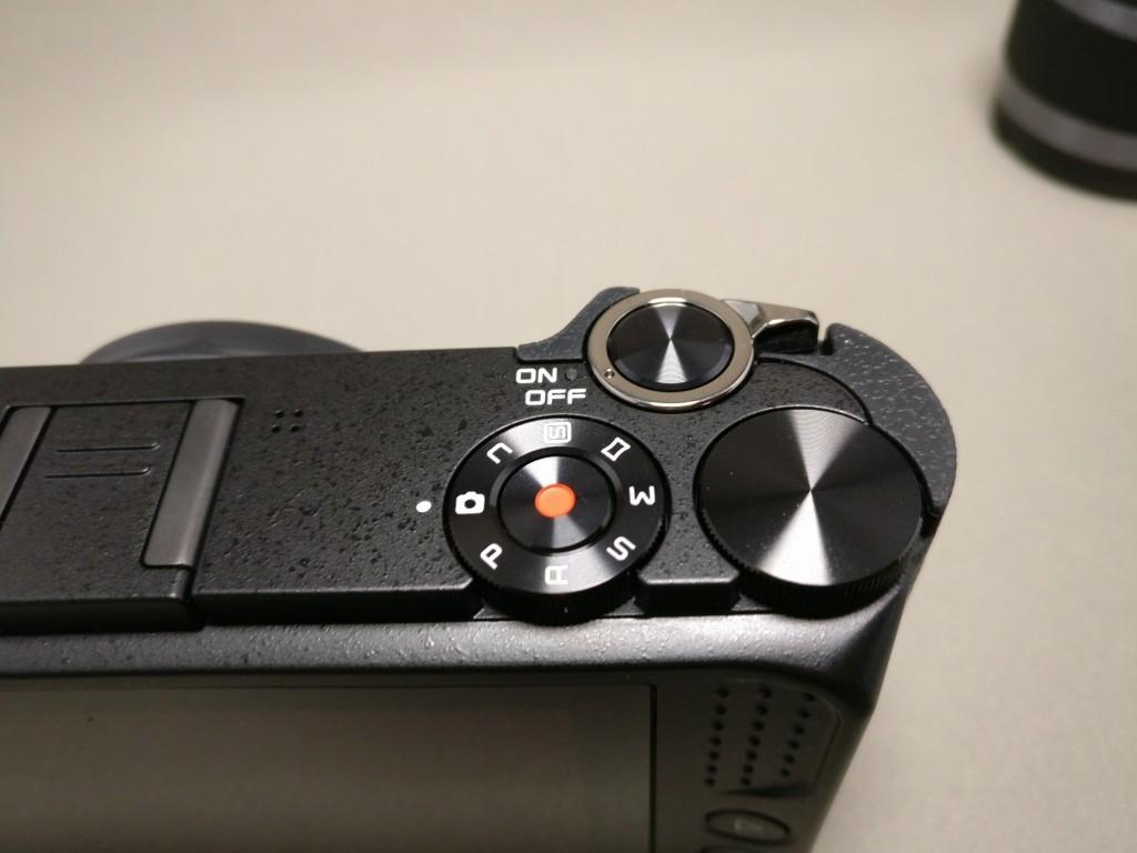 Xiaomi Yi Digital Camera M1 操作ダイヤル