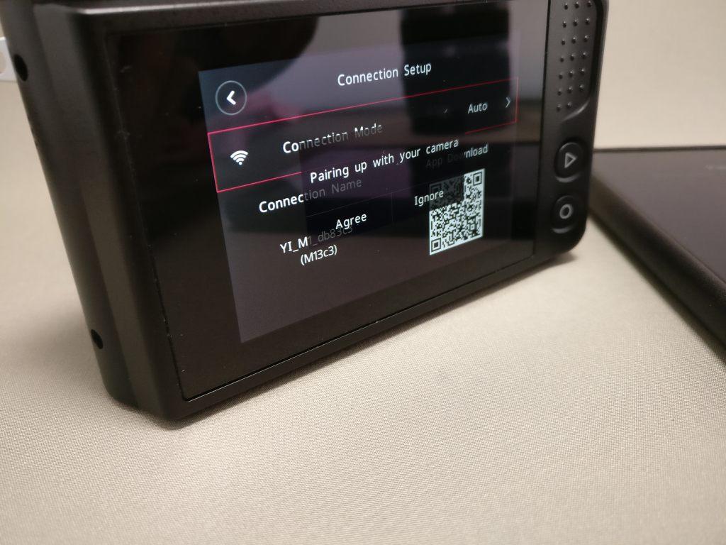 中華ミラーレス一眼 Xiaomi Yi Digital Camera M1  Xiaomi Mi MIXとペアリング