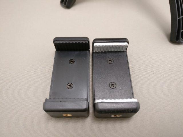 AUKEY ミニ三脚+スマートフォンホルダー CP-T01 スマホホルダー比較