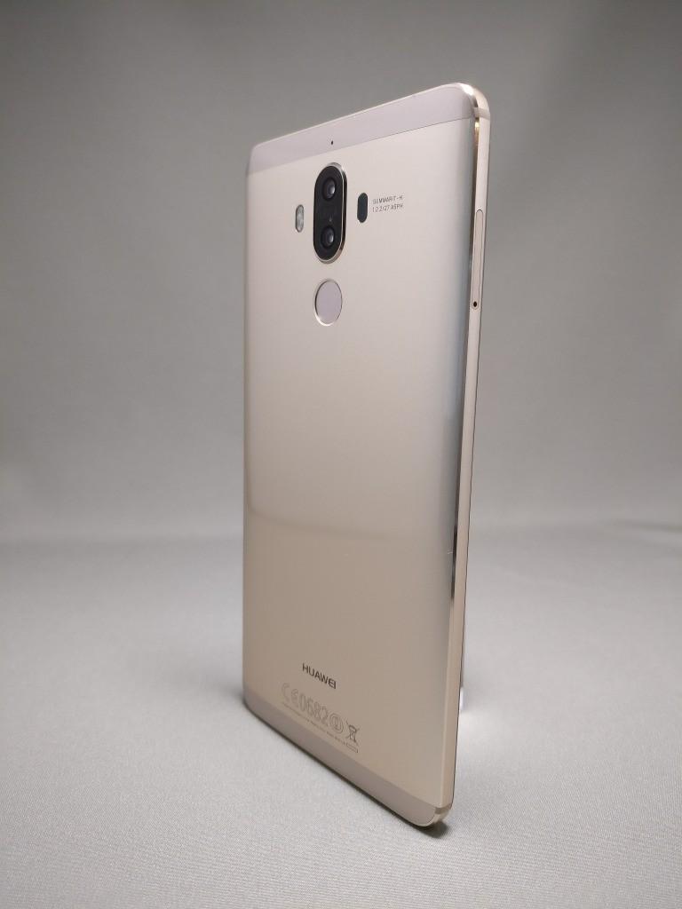 Huawei Mate 9 ゴールド 外観 裏面 9