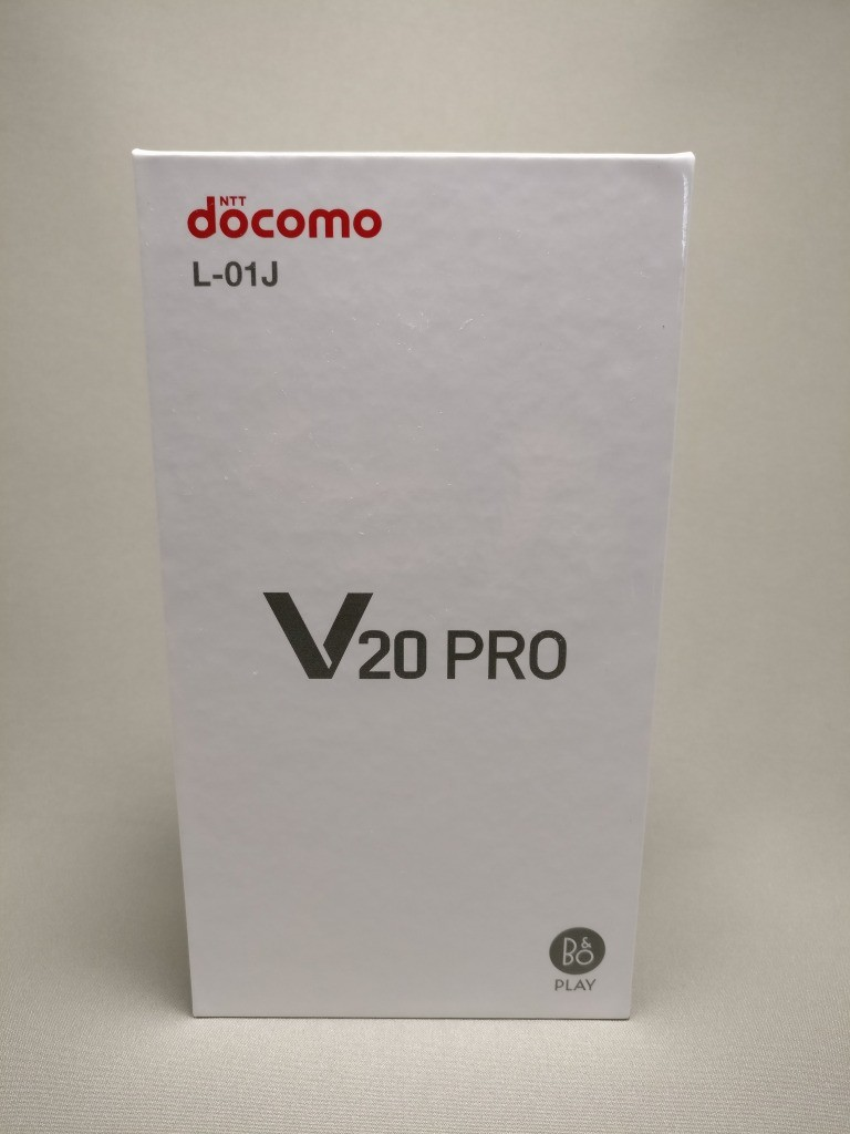 LG V20 Pro 化粧箱 表