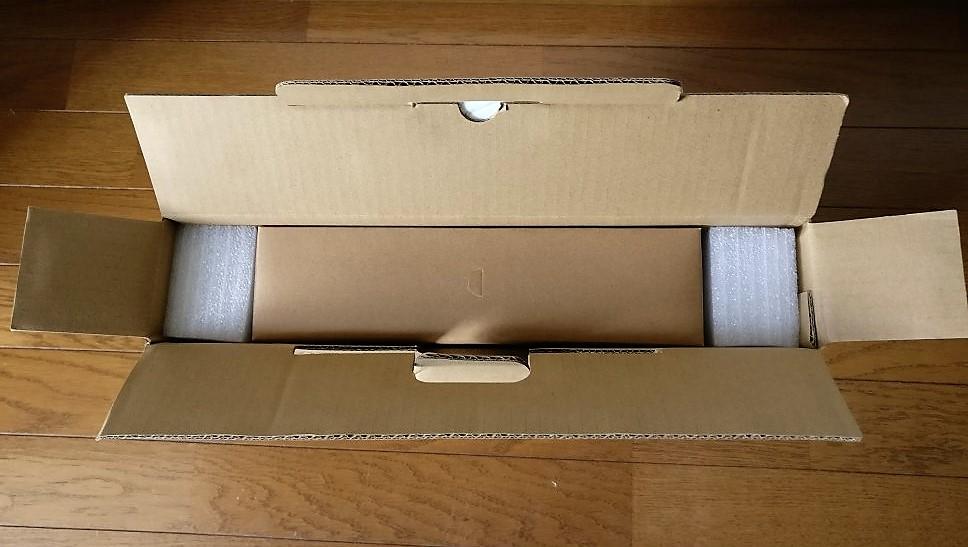 Chuwi Lapbook DCアダプタが入っている箱