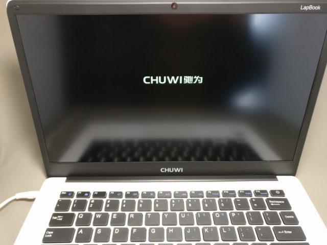 Chuwi Lapbook 起動
