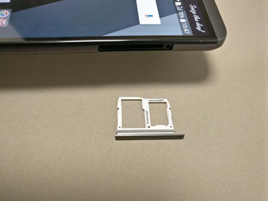 LG V20 Pro SIMスロット