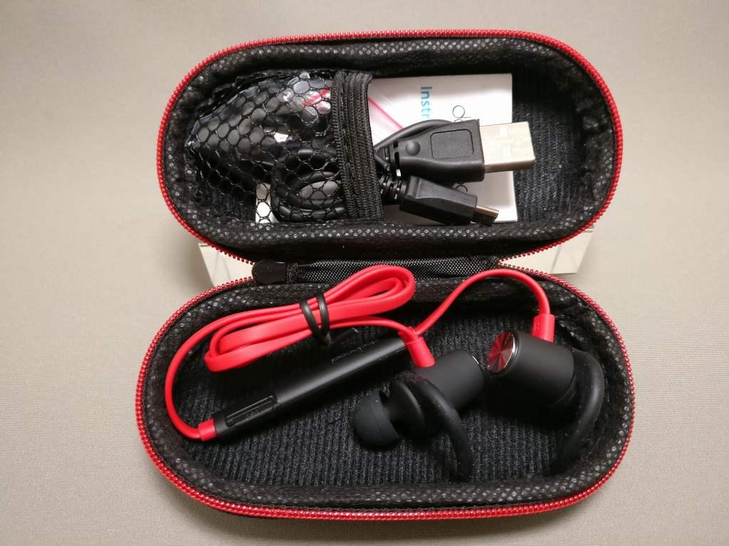 dodocool 磁気Bluetoothスポーツイヤホン 専用ケース 開ける