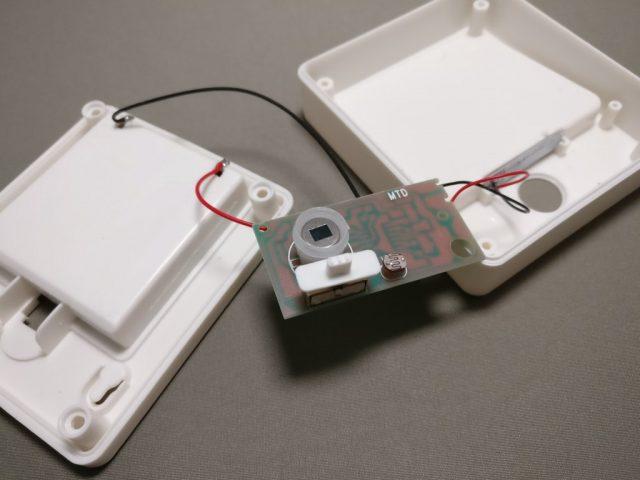 dodocool LEDナイトライト人感センサー 分解 センサー部分