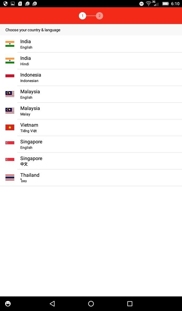 Lenovo TAB3 7(LTE) hotoday 日本語はおろかアメリカもない