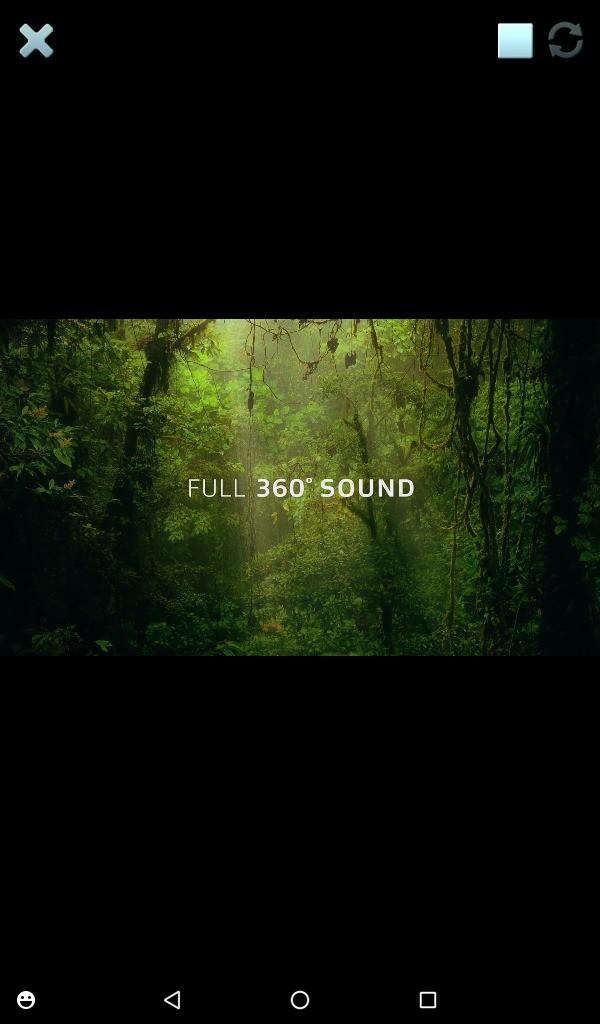 Lenovo TAB3 7(LTE) DOLBY ATMOS サンプル再生 360度サウンド