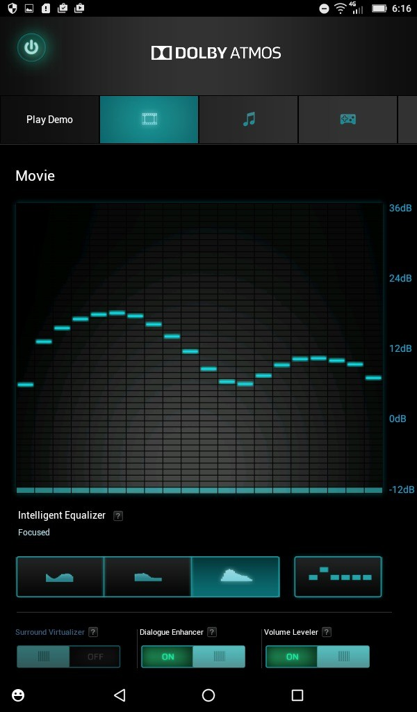 Lenovo TAB3 7(LTE) DOLBY ATMOS サンプル再生 グライコ