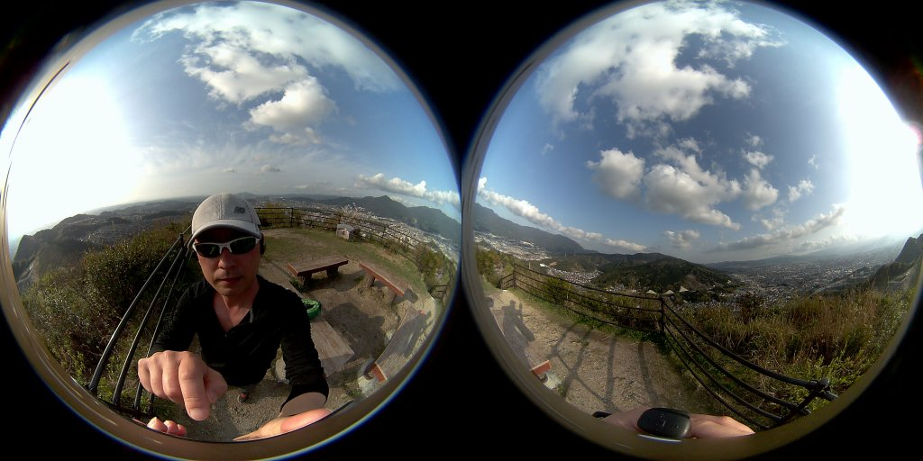 HIGOLE GOLE360 Panorama VR アプリ OnePlus3Tで撮影