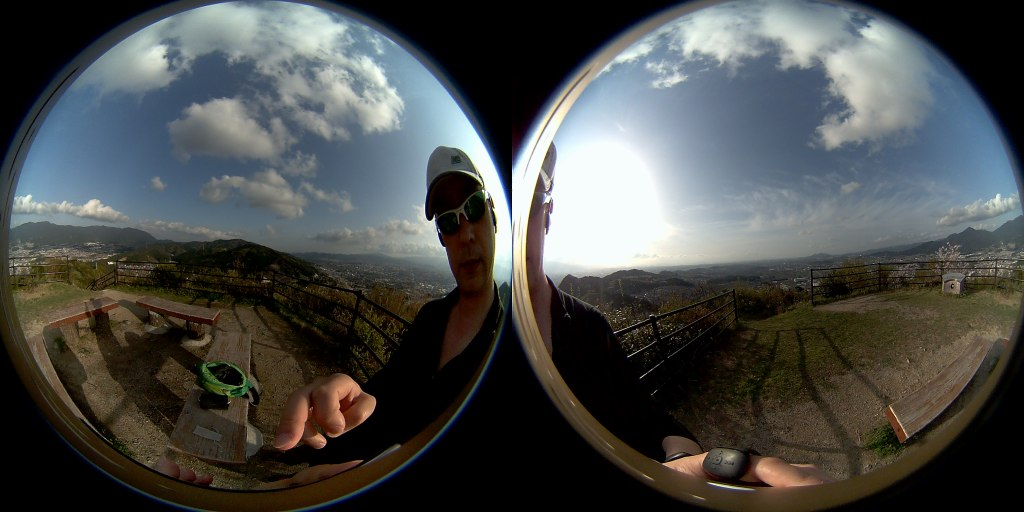 HIGOLE GOLE360 Panorama VR アプリ OnePlus3Tで撮影2
