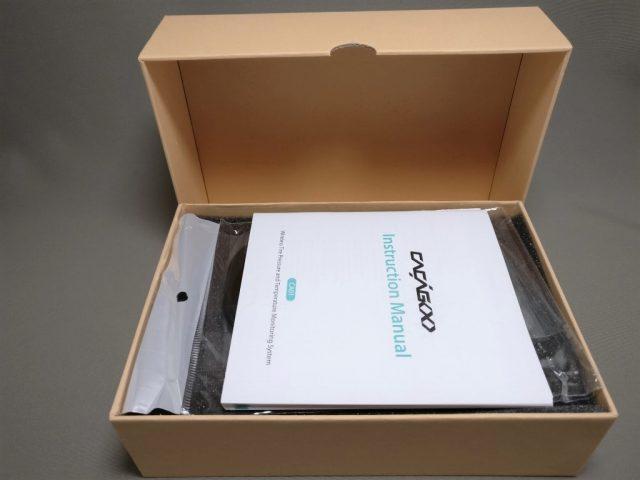 CACAGOO TPMS タイヤ空気圧監視システム 化粧箱 開封