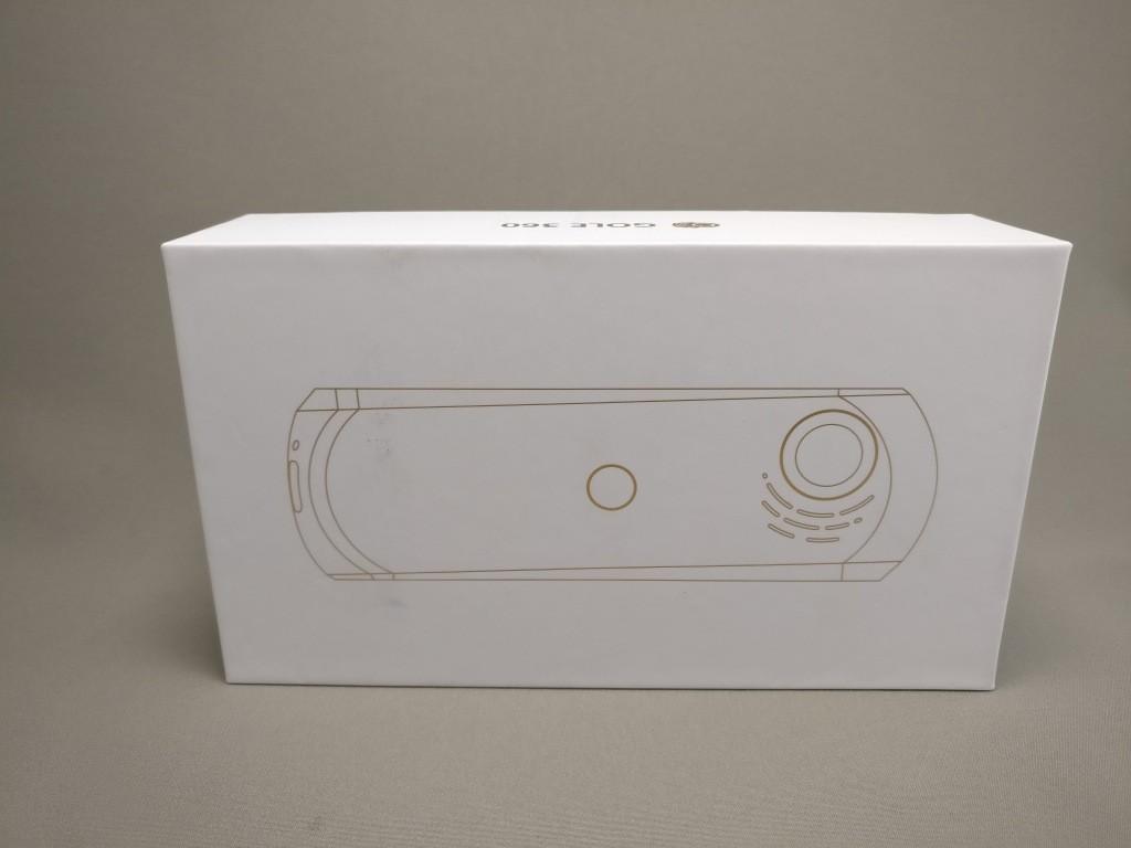 HIGOLE GOLE360 Panorama VR アクションカメラ 化粧箱 横