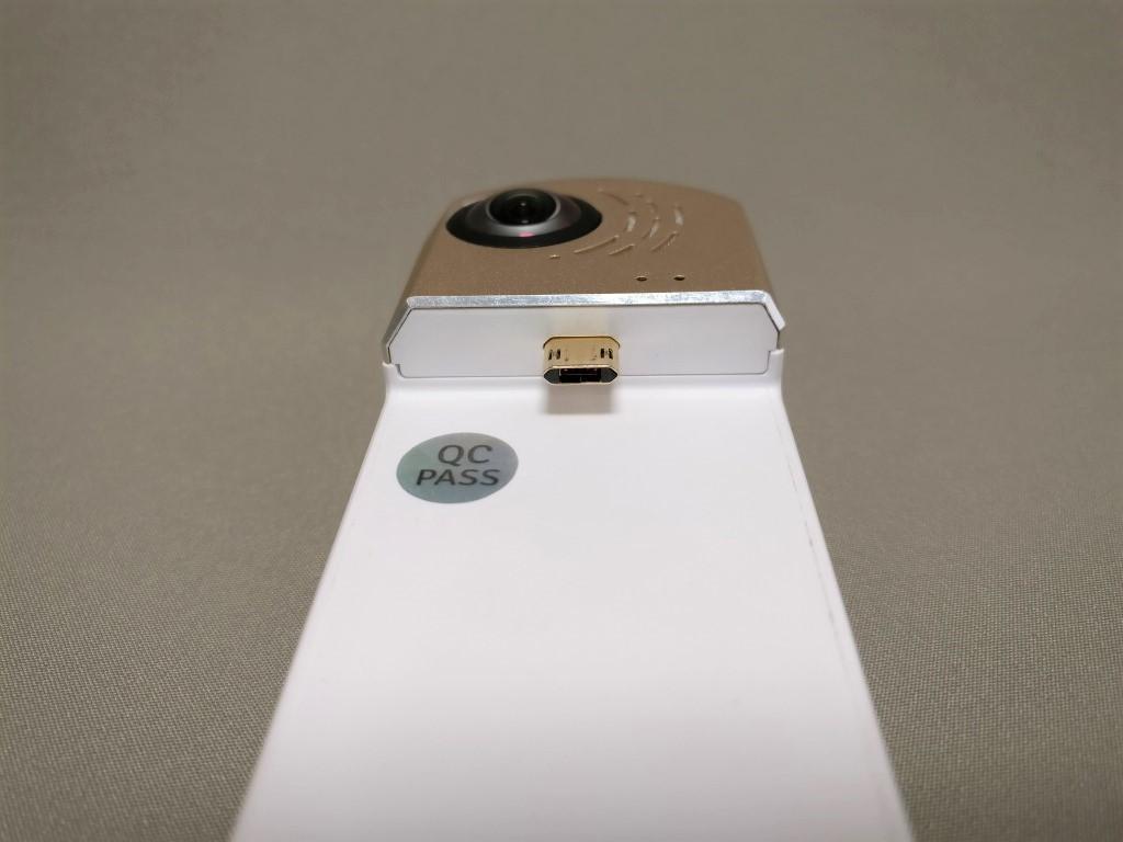 HIGOLE GOLE360 Panorama VR アクションカメラ MicroUSB