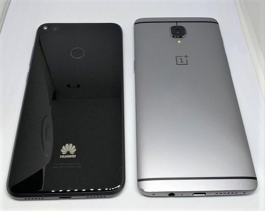 Huawei nova Lite とOnePlus3 比較