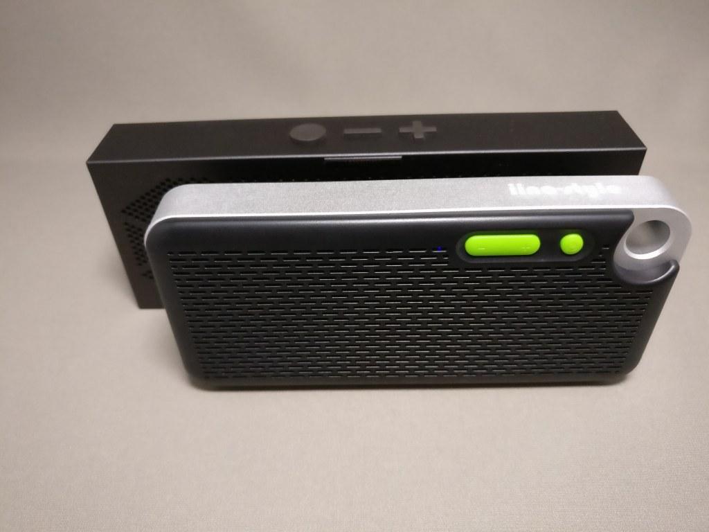 iina-style Bluetooth4.1スピーカー IS-BTSP03U 他のスピーカー 表 縦